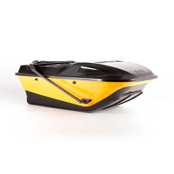 Cани волокуши KTZ Compact с жесткой крышкой